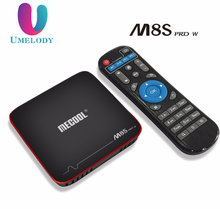 Original mecool m8s pro w s905w mag 254 stalker android 7.1 kodi 17.4 amlogic s905w 2Gb/16Gb 2.4g wifi 4kx2k ott smart tv box