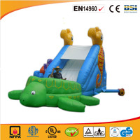 2016 hot sale Ocean animal inflatable slide,Tortoise slide inflatables