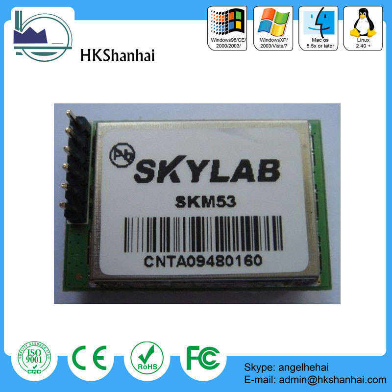 the newest low price gps module gps module with antenna skm53 / universal gps module / gps module