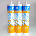 Clear acid type liquid silicone sealant
