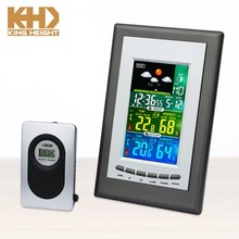 KH-0202 Mini LCD Digital 433mhz Weather Station Indoor Outdoor Thermometer Wireless