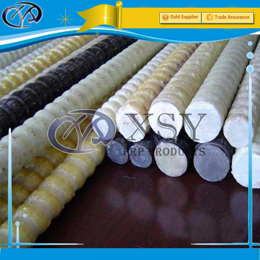 China Supplier Composite Fiberglass Rebar for Waterfront