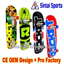 Kids China Maple Skateboard(Professional Design)