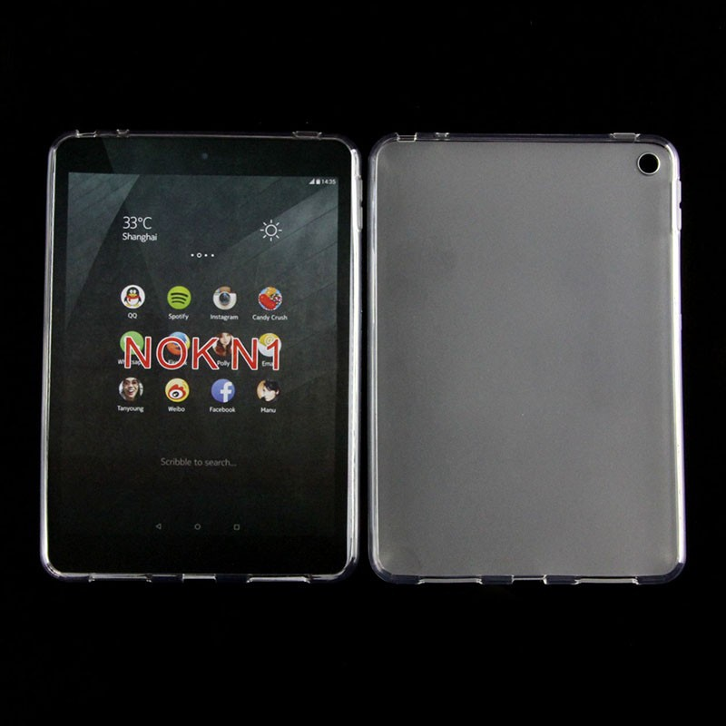 For NOKIA NOK N Soft Gel TPU Pudding Tablet PC Case Mix Colors