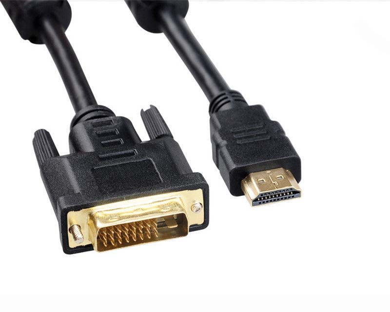 3M 24+1 DVI Male to HDMI Male Converter Cable for Monitor PC LCD LED HDTV 10FT