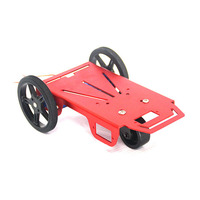 2WD Simple Assembly Electronics Education DIY Robot Mobile Platform Kits