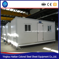 Sandwich Panel Steel Container dormitory modular china prefabricated homes fully furnished container Office