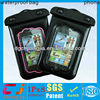 2015 new design pvc lining waterproof bag cover for iphone 4/4s