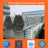 Pipe galvanized scaffolding pipe / greenhouse pipe / steel pipe for construction