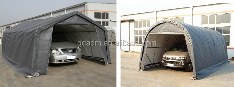 Car Canvas Shelters : Protective portable canvas car shelter buy