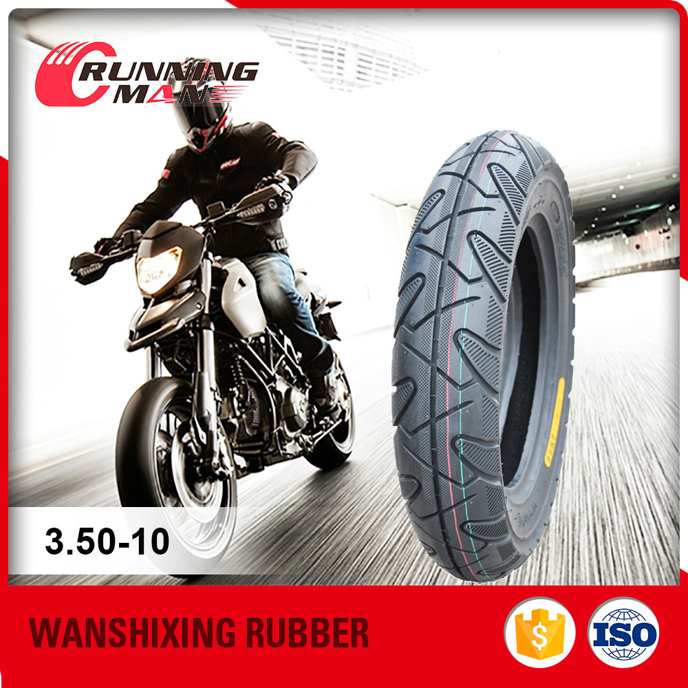 10 Inch Scooter Tires Motorcycle Wheel Tyre 3.50-10 Made In China