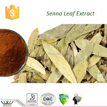Diuretic product Kosher FDA cGMP HACCP certified pure sennosides 20% senna powder senna leaf extract