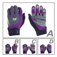 shanghai finger protection microfiber motorcycle racing gloves leather
