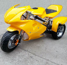 Super Motorcycle Three Wheels Pocket Bike 49cc