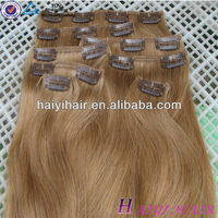 Most Popular Wholesale Price Virgin Remy One Piece Clip In Curly Hair Extensions