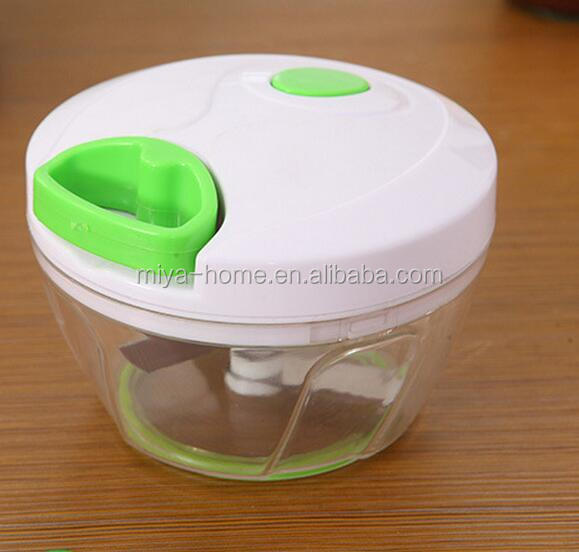 High quality hand Pulling garlic Chopper / Mini vegetable Chopper