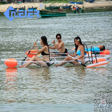 Transparent cheap sea k1 racing plastic kayak for sale in china