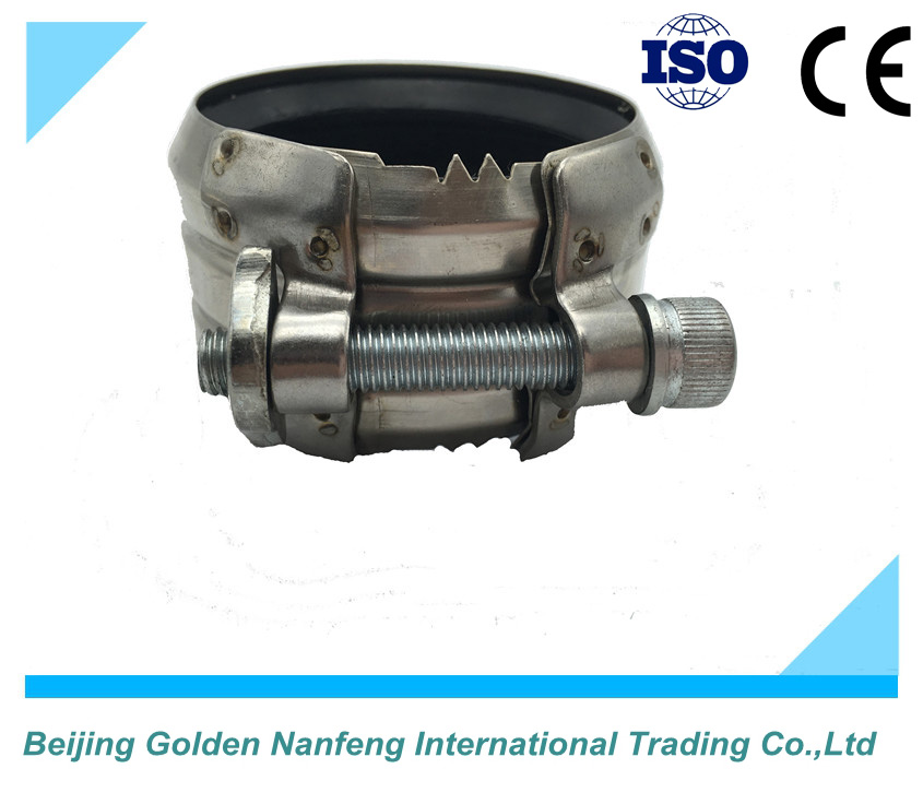 ISO/CE factory pipe leak repair clamp stainless steel metal clamp