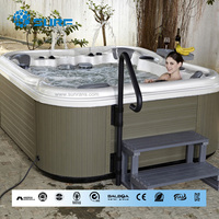 Top quality hot seller acrylic material balboa 6 person hot tub supplies wholesale hot tub winter outdoor