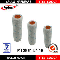 "6"" blue dot microfiber roller cover"