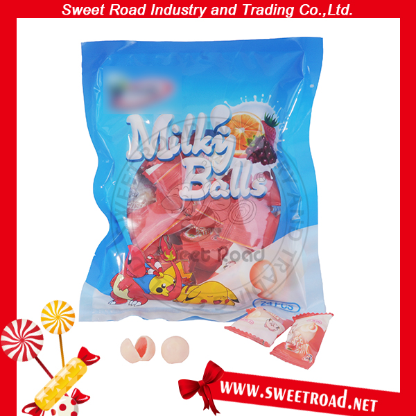 Confectionery Sandwich Milky Balls Milk Candy