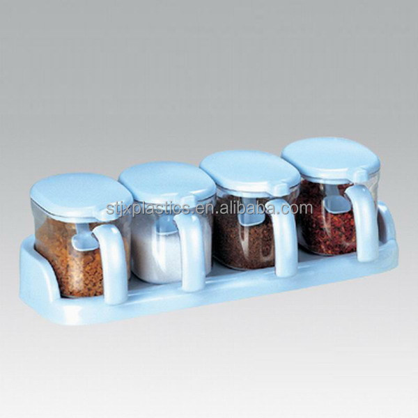 Kitchen Storage Plastic Seasoning Box,Spice Box,Flavoring
