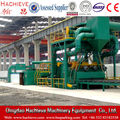 steel plate cleaning equipment, roller conveyor shot blasting machine