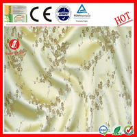 popular woven high quality silk mikado fabric
