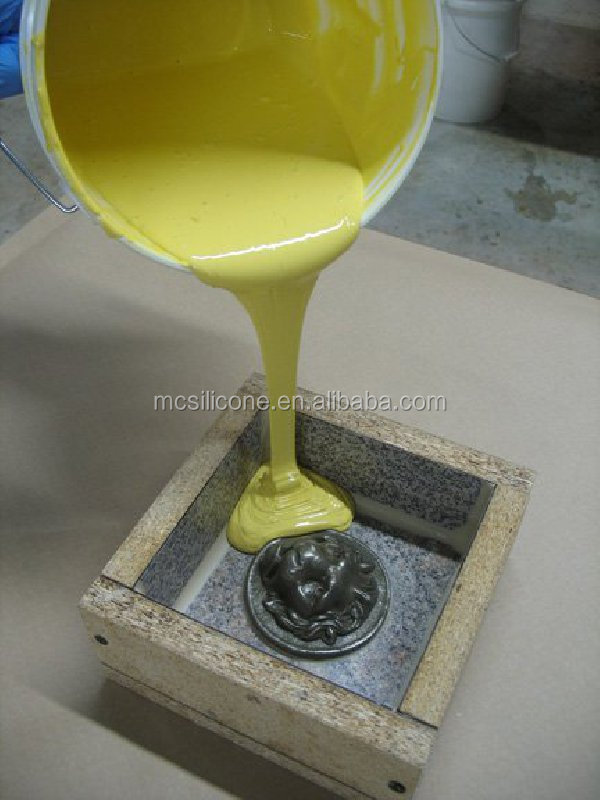 liquid Yellow white color material for urethane rubber mold