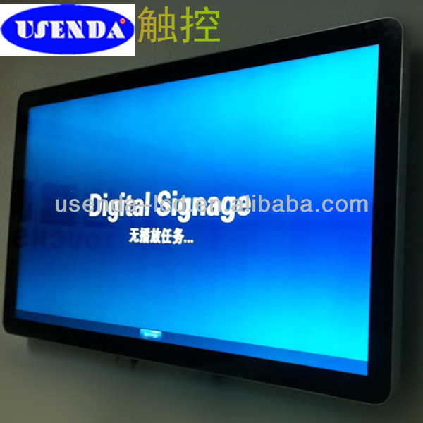 47 inch photo frame digital panel touch screen computer