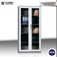 hot selling commercial furniture steel swing door filing cabinet glass key cabinet