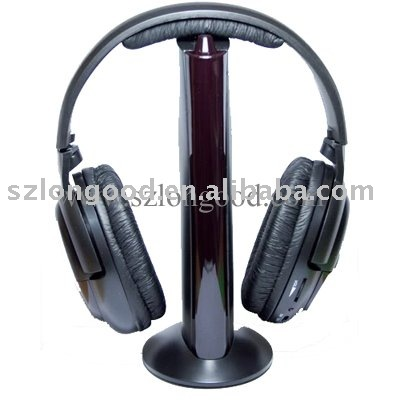 Hottest FM Wireless Headset 6 in 1 EP-018 for TV MP3