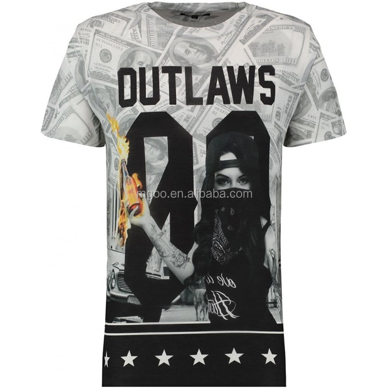 OEM Custom Slik Screen Print Digital Print Men Summer Clothing T shirts Long Brand Apparel