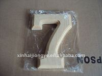 6.1 inches wooden digit model 7