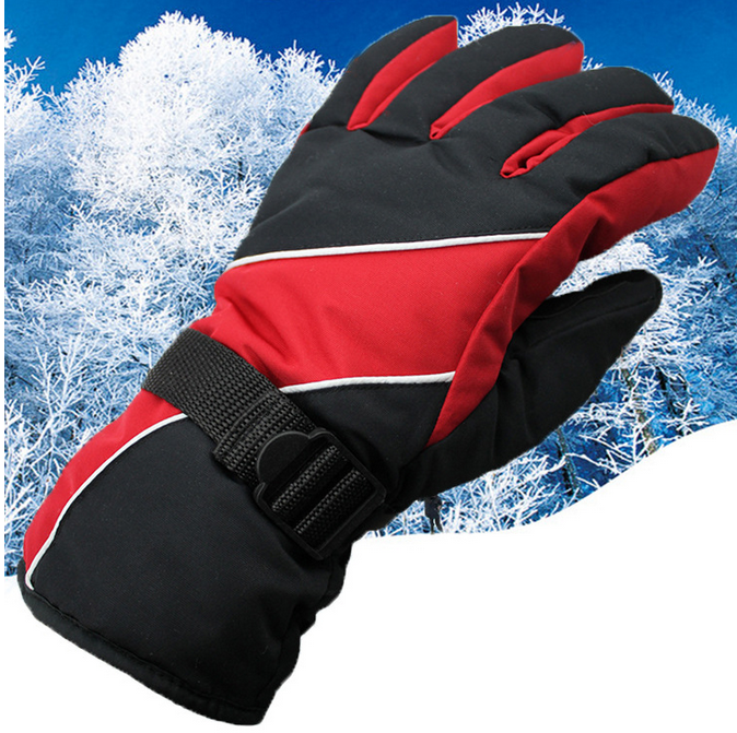 Wind Rain Man adult slip ski gloves to keep warm