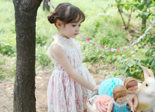 Hot selling red and white flower girl dress with low price 13791