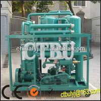Double vacuum Leybold Pumps Transformer Oil Filtration Unit