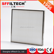 Air Handling Units Pleated Panel Hepa Filter Replacement