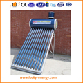 galavnized steel evacuated tube solar powered water heater