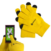 2016 Wholesale Custom Unisex Winter Smartphone Touch Sensitive Gloves