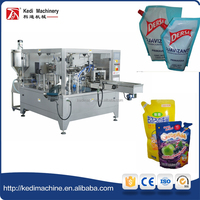 High Quality Automatic Preformed Pouch Liquid Packing Machine