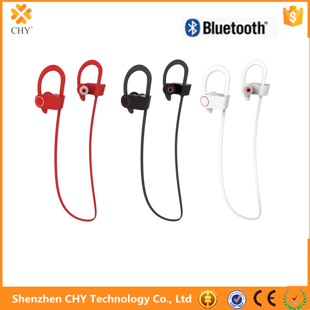 Wireless headphone U8 sport sweatproof bluetooth headset for iphone samsung