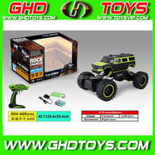 4 WD 1:14 rc car, remote control wall climbing car, drive vehicle with 5 functions for kids