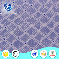 Thinner geometric stretch mesh lace fabric for fashion design lace baju kurung