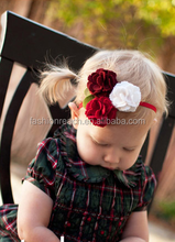 2015hot seller baby hair accessories fabric headband flower headband fashion cute head wrap