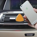 Colorful Triangle Car Air Vent Phone Holder Magnetic Cell Phone Holder Air Vent Mount Universal