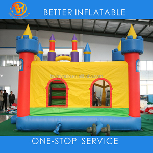 Happy hop inflatable castle bouncer for kids jumping trampoline