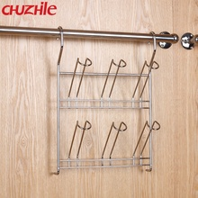 Kitchen Stainless Steel Hanging Class Cup Rack