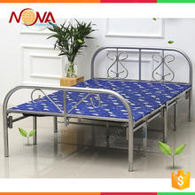 Latest designs metal army folding bed bedroom furniture in beds