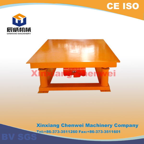 Alibaba gold supply Chenwei made vibration table for concrete moulds